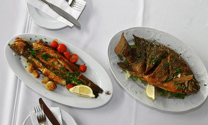 3 ארוחה זוגית ב'מסעדת הדייגים' הכשרה, נמל יפו