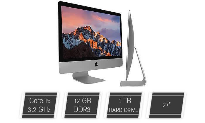 2 מחשב AIO Apple iMac עם מסך 27 אינץ'