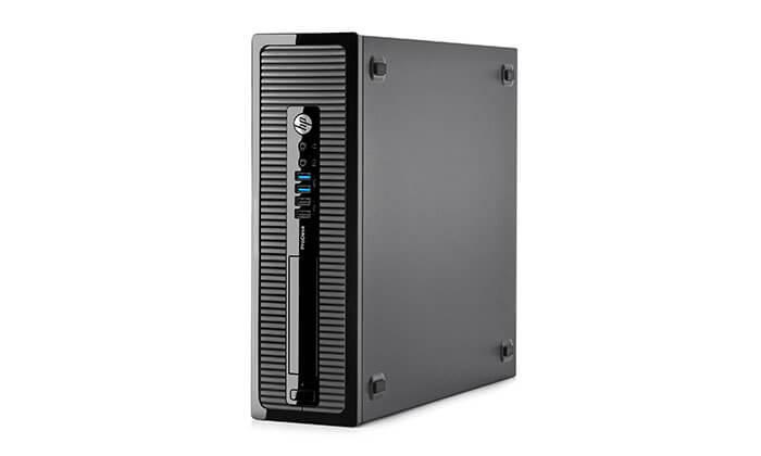 4 מחשב נייח HP עם מעבד Intel Core i3