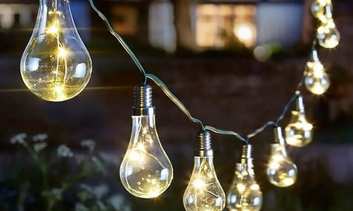 2 שרשרת תאורה סולארית