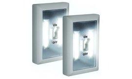 2 מנורות מתג LED עוצמתית
