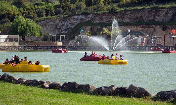 4 אגם מונפורט - יום כיף הכולל 4 אטרקציות בכרטיס אחד