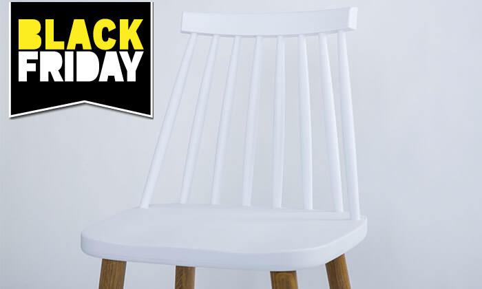 21 כיסא בר עם משענת גב