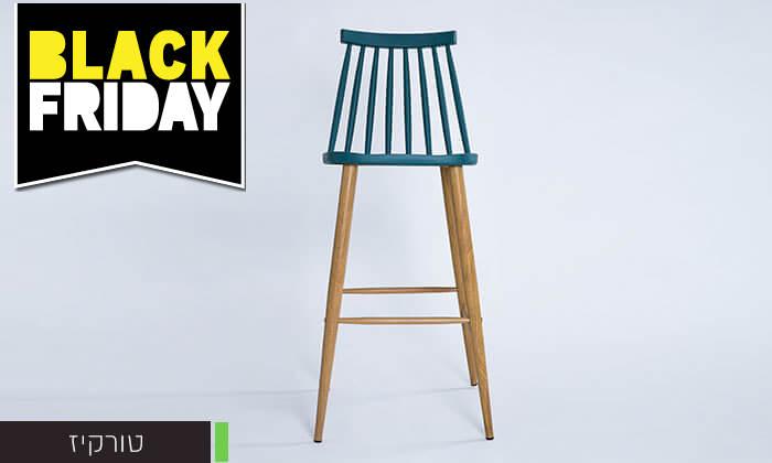 16 כיסא בר עם משענת גב