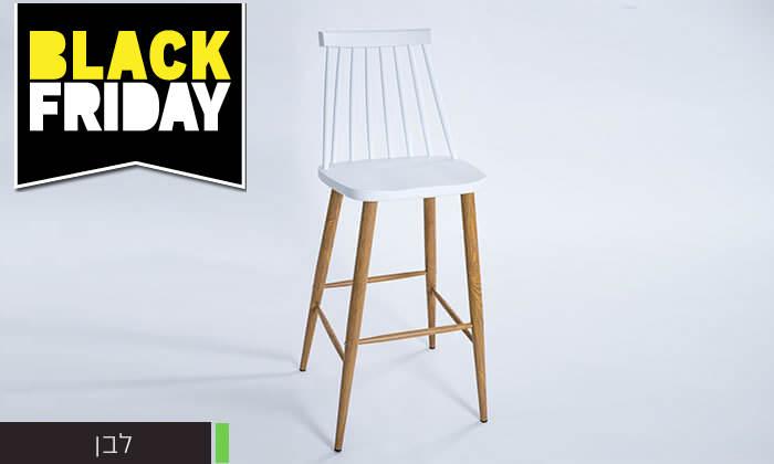 15 כיסא בר עם משענת גב