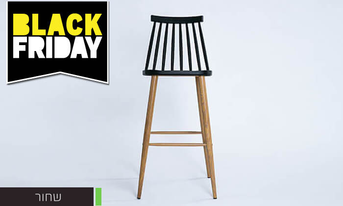 18 כיסא בר עם משענת גב