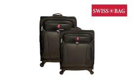סט 2 מזוודות סופר לייט SWISS