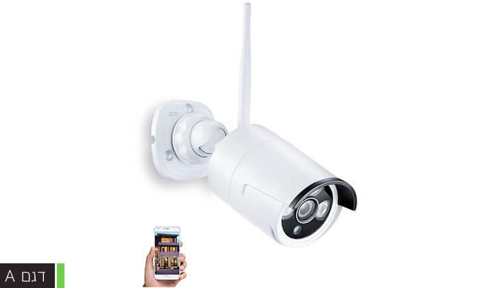 3 מצלמת אבטחה ממוגנת אלחוטית