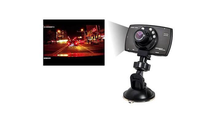 4 מצלמת דרך לרכב כולל תאורת לילה