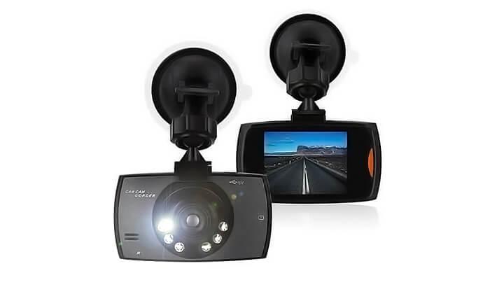 6 מצלמת דרך לרכב כולל תאורת לילה