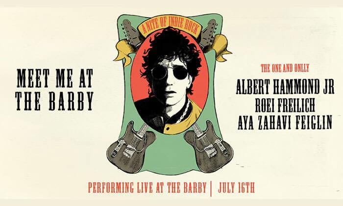 2 כרטיס להופעה של אלברט האמונד ג'וניור, מועדון הבארבי בתל אביב