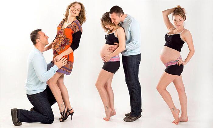 4 צילומי הריון ומשפחה בסטודיו שטראוס, גבעת ברנר