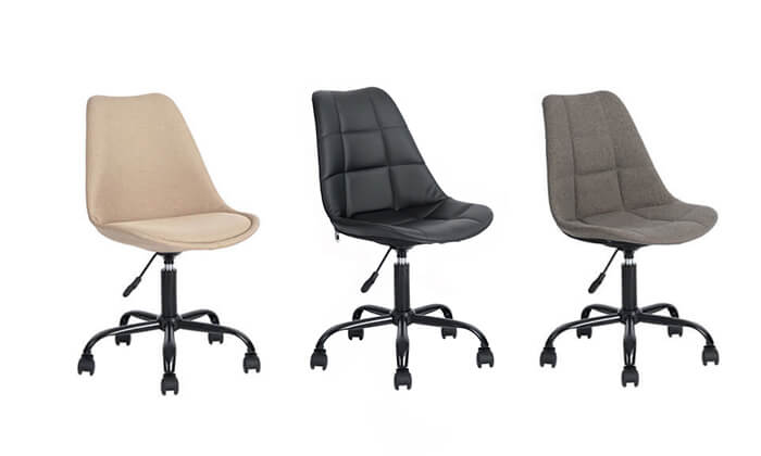 2 כסא על גלגלים לבית ולמשרד Homax