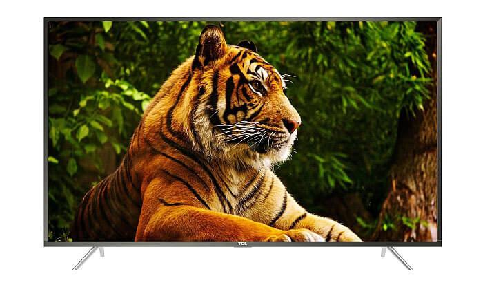 2 טלוויזיה SMART 4K TCL, מסך 50 אינץ'