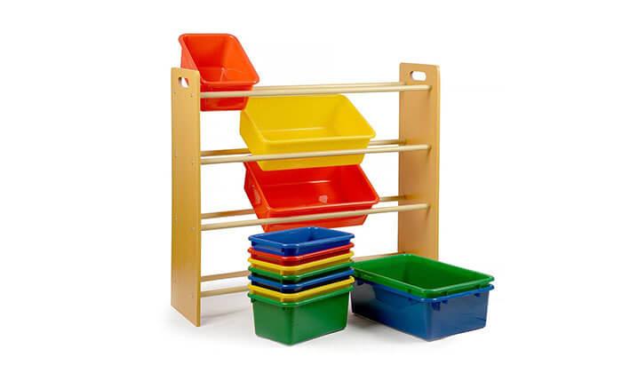 3 ארגונית צעצועים לילדים 4קומות