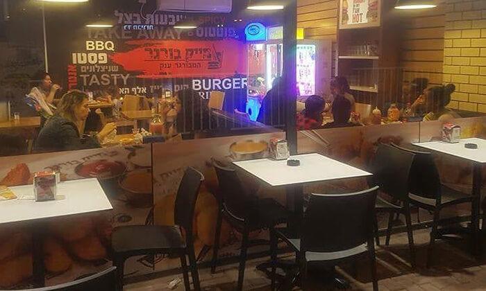 4 ארוחה זוגית כשרה במייק בורגר, סניף יהוד
