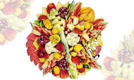 מגשי פירות מפוארים
