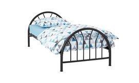מיטת ילדים עם משענת BRADEX