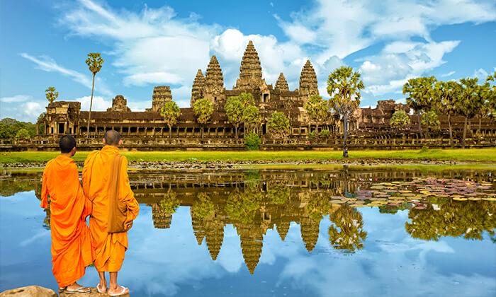 2 טיול מאורגן לווייטנאם, קמבודיה והונג קונג