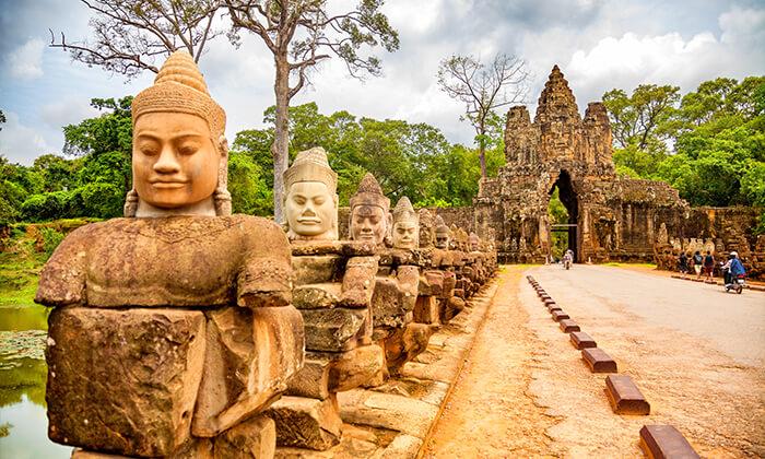 6 טיול מאורגן לווייטנאם, קמבודיה והונג קונג