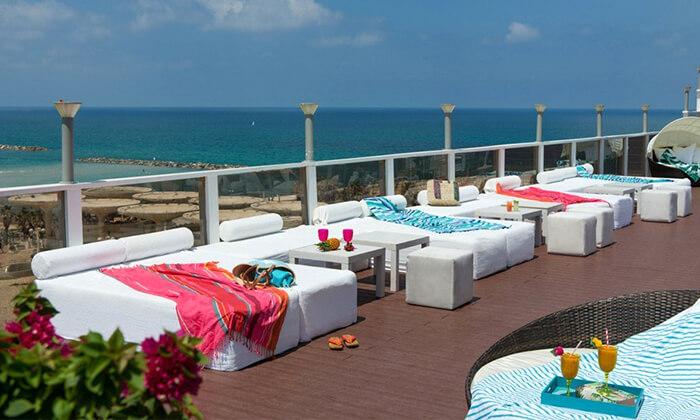 5 יום כיף זוגי עם עיסוי ב-Share Spa במלון לאונרדו ארט, חוף גורדון