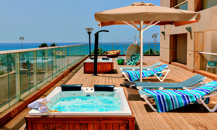 2 יום פינוק עם עיסוי ב-Share Spa מלון לאונרדו סוויט, בת ים