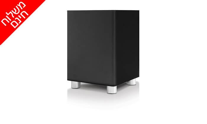 5 סאונד בר וסאבוופר אלחוטי פיור אקוסטיקס Pure Acoustics, משלוח חינם!
