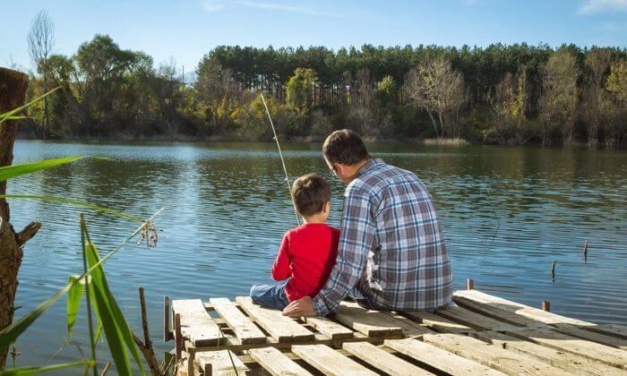 1 פארק הדייג 'דג וגן' בבית עובד - כרטיס כניסה