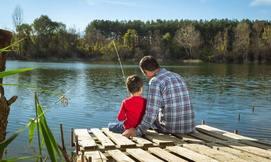 כניסה לפארק הדייג דג וגן