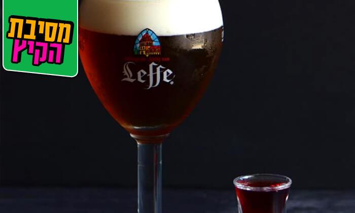 6 ארוחה עם בירה בבר מסעדה בראון, חיפה