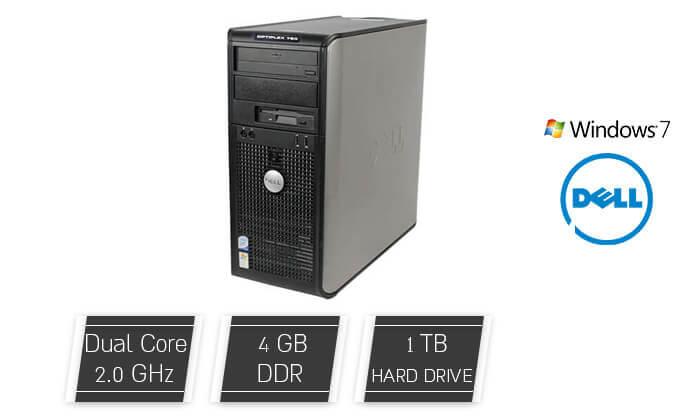 2 מחשב נייחDELL עם מעבד C2D