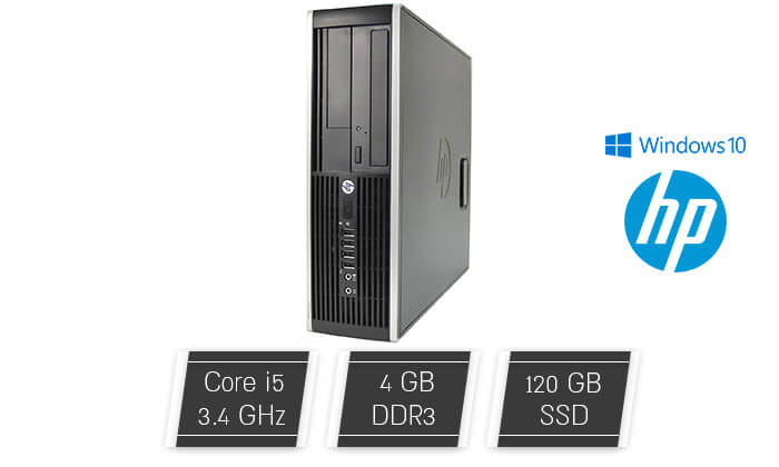 2 מחשב נייח HP עם מעבד i5 - משלוח חינם!