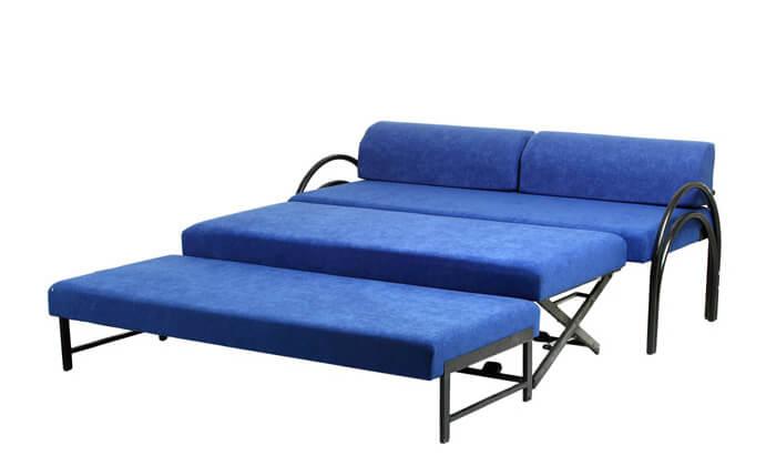 3 שלוש מיטות בספה אחת