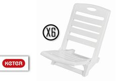 6 כיסאות מתקפלים