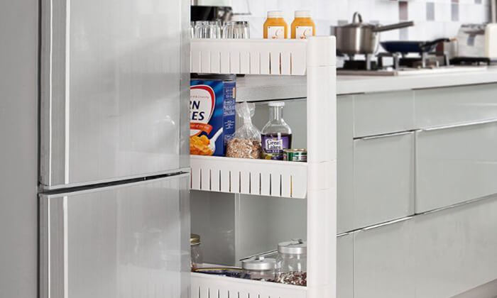 4 עגלת שירות ניידת למטבח