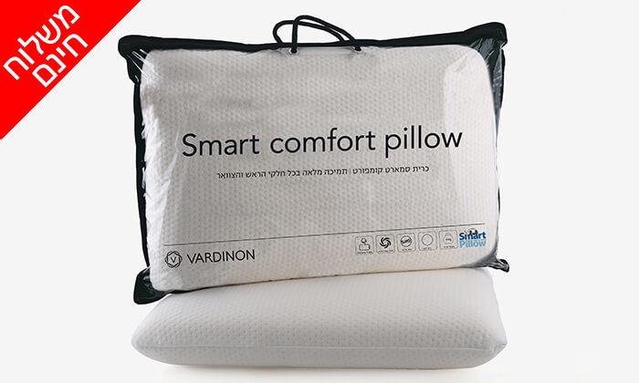 2 כרית שינה אורתופדית ורדינון - משלוח חינם!