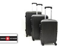 סט 3 מזוודות קשיחות SWISS BRAN