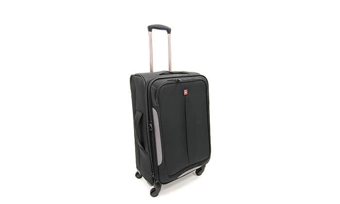 5 סט 3 מזוודות בד SWISS BRAND