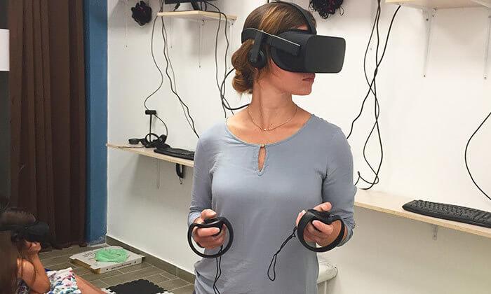 4 משחק מציאות מדומה ב-VR CLUB, אשקלון