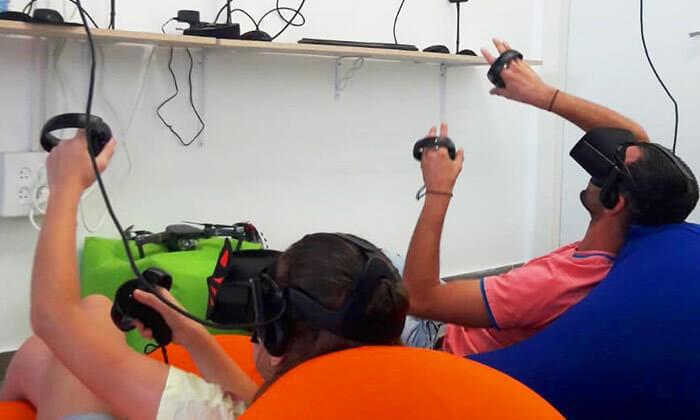 5 משחק מציאות מדומה ב-VR CLUB, אשקלון