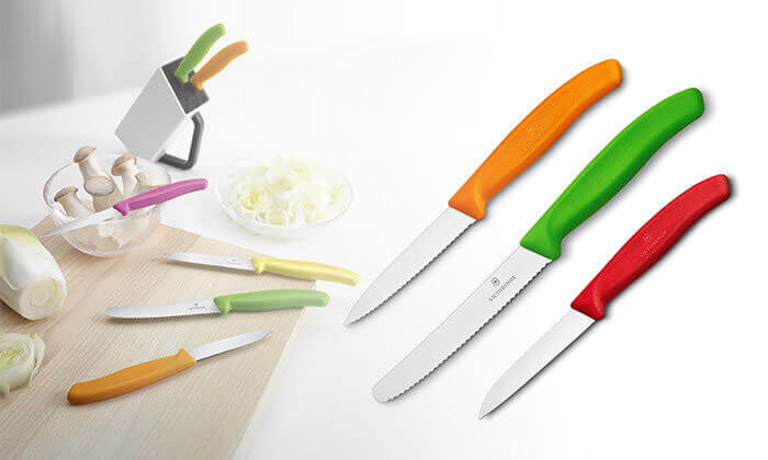 9 מארז 3 סכיני VICTORINOX