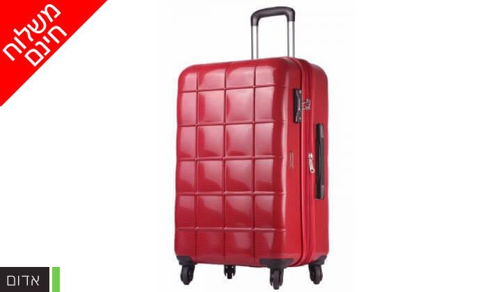 6 סט 3 מזוודות קשיחות ECHOLAC - משלוח חינם!