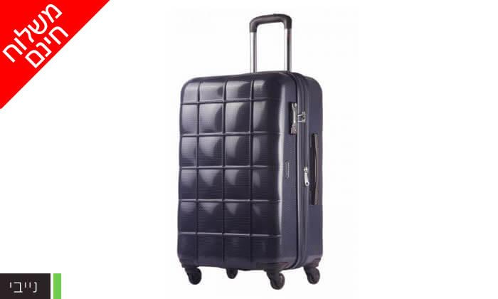 7 סט 3 מזוודות קשיחות ECHOLAC - משלוח חינם!