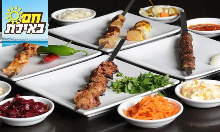 3 ארוחה זוגית במסעדת אשכרה, אילת