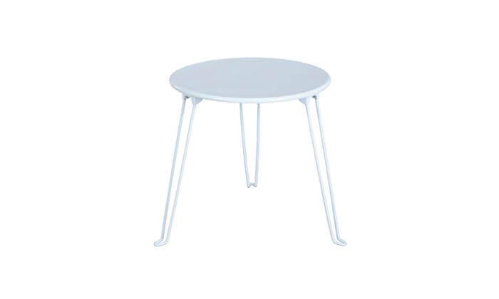 4 שולחן צד עגול