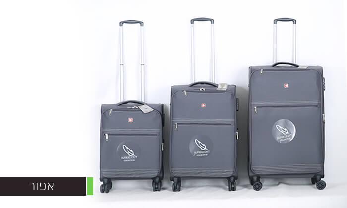 5 סט 3 מזוודותSWISS PREMIUM X9000
