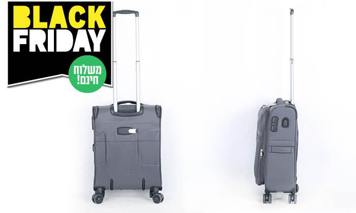 7 סט 3 מזוודותSWISS PREMIUM X9000 - משלוח חינם