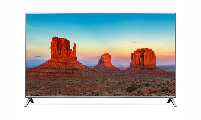 2 טלוויזיה SMART 4K LG, מסך 75 אינץ' - משלוח חינם לחגים!