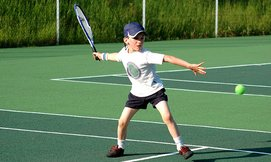 שיעורי טניס לילדים ולנוער