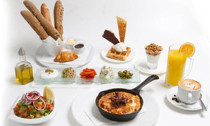 5 ארוחת בוקר זוגית בלונדון רסטו קפה, תל אביב
